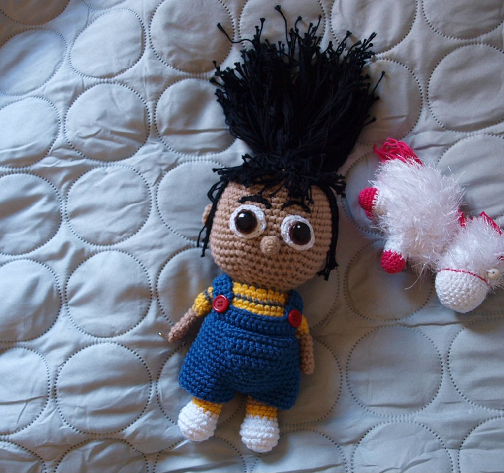 Agnes og Fluffy 1