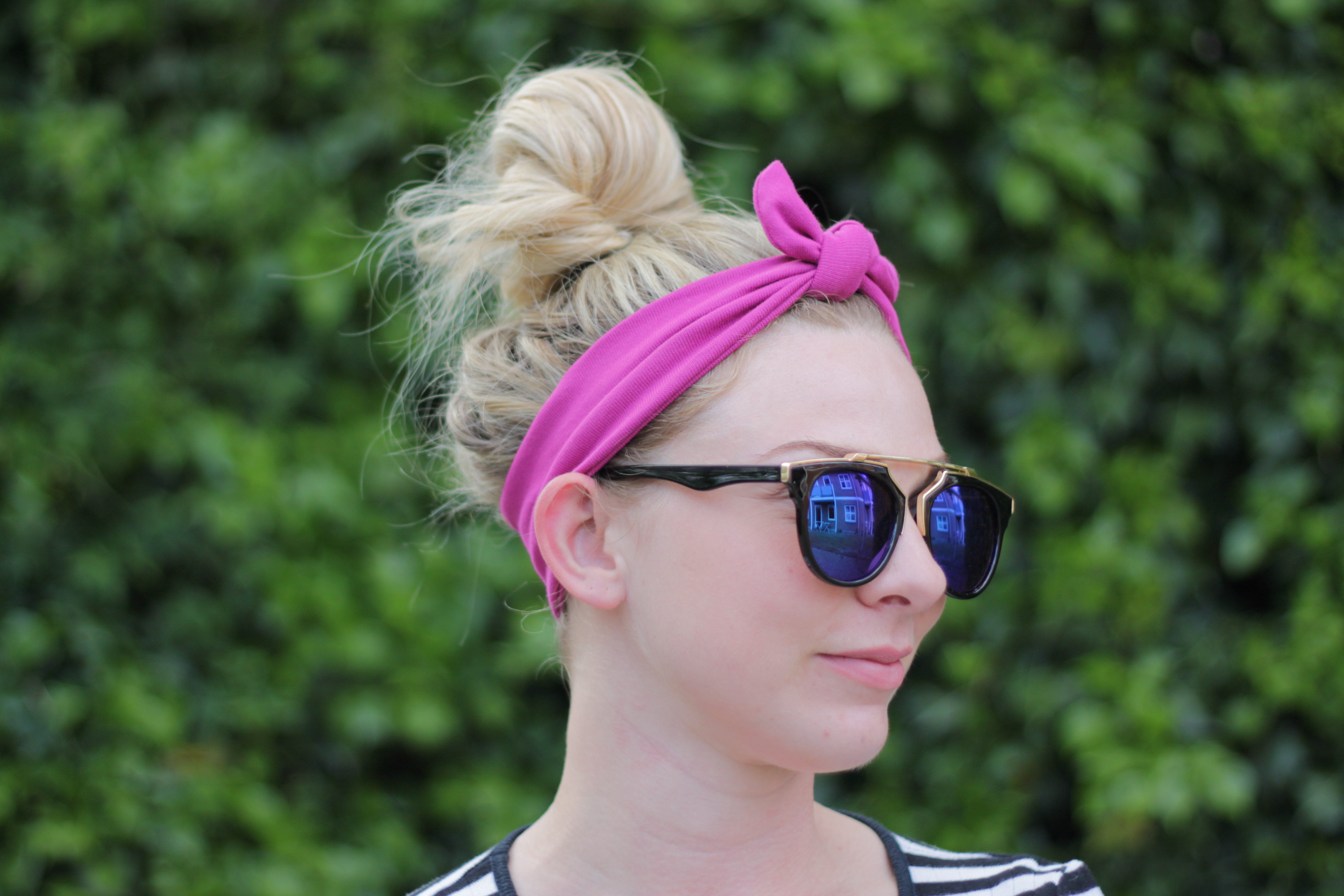 Pink knude 1