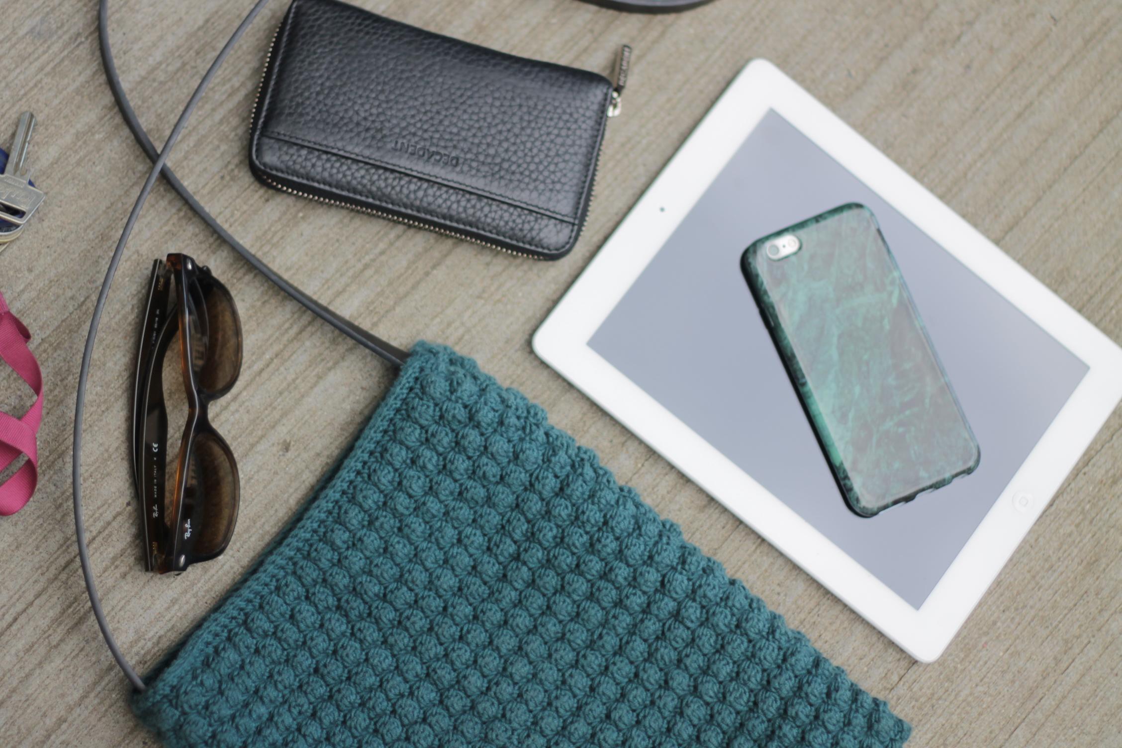 iPad boble taske - overblik